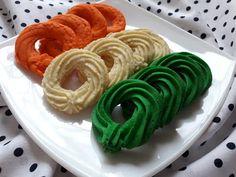 Betti gluténmentes konyhája: Dán vajas keksz Onion Rings, Ethnic Recipes, Food, Meal, Essen, Hoods, Meals, Onion Strings, Eten