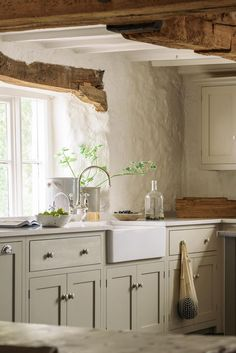21 Beautifully Rustic English Country Kitchen Design Details to Add Charming Eur. - 21 Beautifully Rustic English Country Kitchen Design Details to Add Charming European Country Style - English Country Kitchens, Rustic Country Kitchens, Farmhouse Kitchen Island, Country Kitchen Designs, Rustic Kitchen Design, Shaker Kitchen, New Kitchen, Kitchen Ideas, Rustic Design
