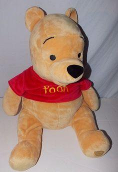 Disney Store Winnie The Pooh Bear Plush Stuffed Animal   #DisneyStore