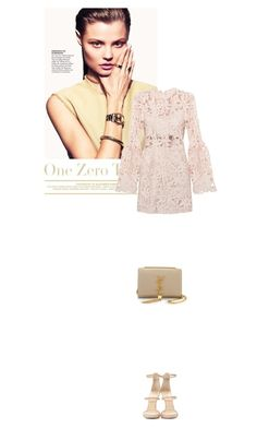 """Untitled #126"" by whiteness ❤ liked on Polyvore featuring Giuseppe Zanotti and Yves Saint Laurent"