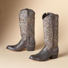 FRYE® VINTAGE STUDDED TALL BOOTS