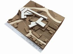 USM Architecture Workshops - Jennifer Home Cultural Architecture, Workshop Architecture, Maquette Architecture, Art And Architecture, Architecture Details, Urban Ideas, Landscape Model, 3d Modelle, Arch Model