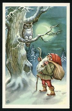 "Photo from album ""Lars Carlsson"" on Yandex.Disk-Photo from album ""Lars Carlsson"" on Yandex.Disk Photo by NATALI on Yandex. Swedish Christmas, Christmas Gnome, Scandinavian Christmas, Vintage Christmas Images, Christmas Pictures, Vintage Cards, Vintage Postcards, Yule, Christmas Illustration"