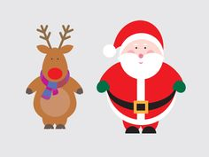 Free Christmas Vectors by Evoluted New Media