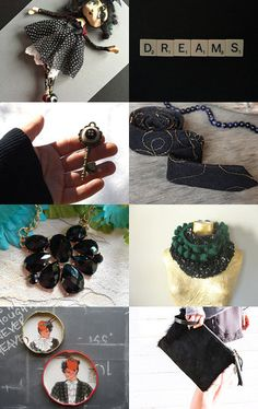Inspiration in Black by Silvia Paparella on Etsy--Pinned with TreasuryPin.com