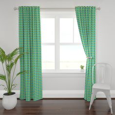 Made of high-quality fabrics with a custom printed design our Plymouth curtain panels instantly dress up windows in the bedroom, living room and beyond. Blue Floral Curtains, Chevron Curtains, Custom Curtains, Panel Curtains, Curtain Panels, Custom Fabric, Moroccan Curtains, Kind Of Blue, Pastel Blue