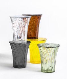 Sgabello Sparkle di Kartell | Design: Tokujin Yoshioka | Anno: 2014 | Materiali: PMMA .