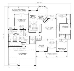 House Plan chp-15163 at COOLhouseplans.com, 2478 Sq. Ft., probably more space than we need