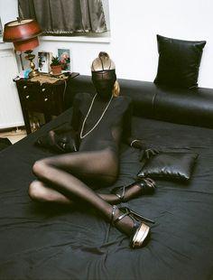 97bc965d Source: theclassyissue.com Nylons, Black Pantyhose, Stiletto Heels, High  Heels,