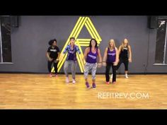 """Meghan Trainor """"No Good For You"""" video Dance Fitness choreography by REFIT® Revolution - YouTube"""