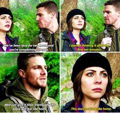 Arrow - Oliver and Thea #3.13 #Season3
