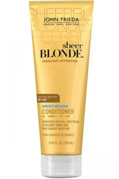John Frieda Sheer Blonde Highlight Activating Moisturising Conditioner Honey to Caramel 250 ml hakkında kapsamlı bilgilere bu sayfadan ulaşarak bilgi sahibi olabilirsiniz.