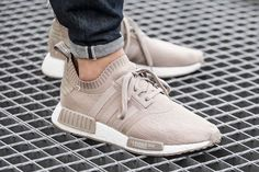 adidas NMD R1 Primeknit French Beige || Follow @filetlonon for more street wear #filetlondon