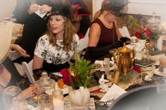 Everly Deer Design   Halloween Mad Hatter Tea   Styled 30th Birthday Party