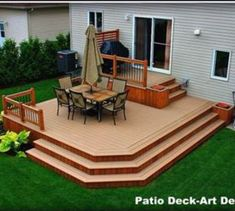 20 Insanely Cool Multi Level Deck Ideas For Your Home! 2019 Best Multi Level Deck Design Ideas For Your Home! The post 20 Insanely Cool Multi Level Deck Ideas For Your Home! 2019 appeared first on Deck ideas. Design Patio, Veranda Design, Patio Deck Designs, Deck Design Plans, Porch Designs, Deck Plans, Exterior Design, Patio Plan, Backyard Patio