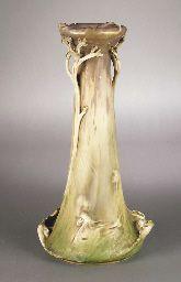 Austrian Amphora Art Nouveau ceramic vase