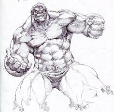 Hulk by Jae Hong Kim