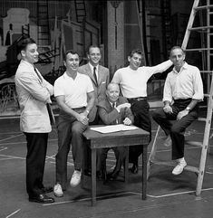 Robbins and the genius production team of West Side Story (Leonard Bernstein, Arthur Laurents, Hal Prince, Stephen Sondheim, and Robert Griffith)