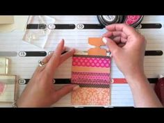 cardmaking video: Make It Monday #65: Background Patterns From Patterned Paper Scraps - YouTube