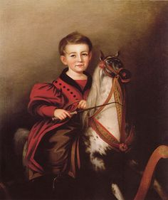 hobby-horses in famous paintings - Google Search
