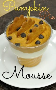 Pumpkin Pie Mousse Recipe