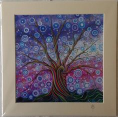 "Tree of Life 11 PRINT 8x8"" by Mark Betson £23.00"