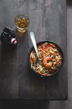 Photograph Stir-fry Noodles by Aisha Yusaf on 500px