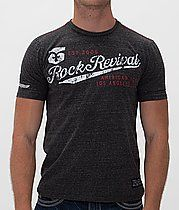 Rock Revival American Tag Fingerprint T-Shirt