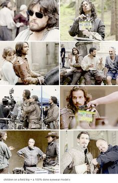 The Musketeers bts