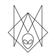 Alien Logo A M