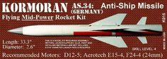 Launch Pad Flying Model Rocket Kit K015 Kormoran - http://hobbies-toys.goshoppins.com/models-kits/launch-pad-flying-model-rocket-kit-k015-kormoran/