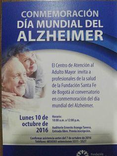 CONVERSATORIO SOBRE EL ALZHEMER EN BOGOTÀ | Central Informativa del Adulto Mayor
