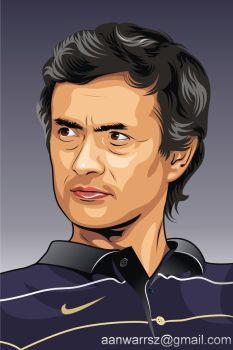 Jose Mourinho by anwarsz