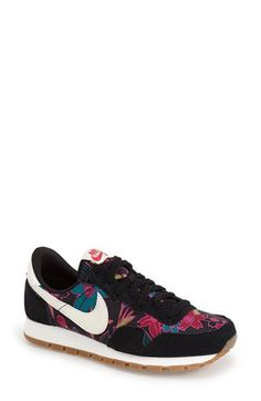 A retro-inspired sneaker is crafted with dual-density foam cushioning and a suede-and-mesh upper for breathable comfort, while a waffle-patterned sole provides enhanced traction. @Nordstrom