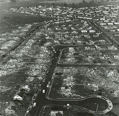 Arrowhead Suburb after Xenia 1974 Tornado.
