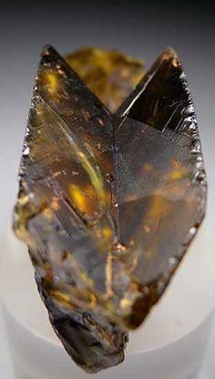 Sphene (titanite) from Mulla Ghori, Khyber Agency, Pakistan