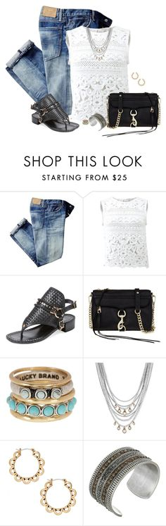 """""""My OOTD"""" by sherry7411 on Polyvore featuring Ermanno Scervino, Ivy Kirzhner, Rebecca Minkoff and Lucky Brand"""