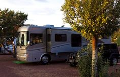 RV camping Grand Canyon