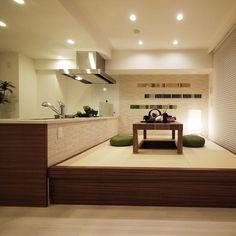 Japanese Home Design, Japanese House, Japanese Furniture, Ldk, Closet Bedroom, Double Vanity, Home Kitchens, Kitchen Design, New Homes