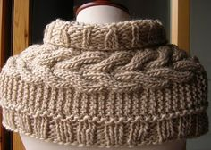 Beautiful Knit Scarf