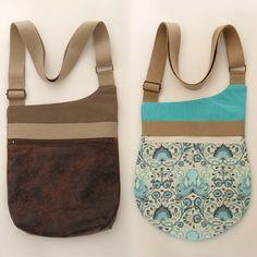 Patron sac bandoulière Be-Bop -- Be-Bop sling bag pattern