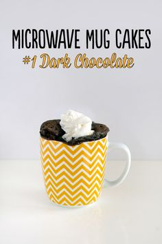 Microwave Mug Cakes – #1 Dark Chocolate « Love Swah – A Sydney food, travel and design blog