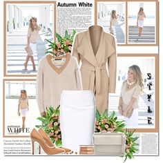 """Autumn white!!"" by lilly-2711 on Polyvore"