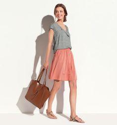 166f80791bf8 Promod has mini, denim and pleat design skirts that won t go unnoticed.