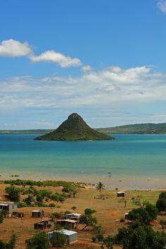 View on the local sugarleaf (pain de sucre) hill, Diego Suarez, Madagascar. Photo by Stephanie Rabemiafara