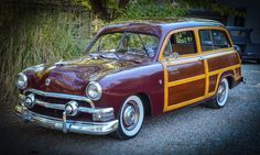 1951 Ford Other SURFS UP...WOODY WAGON FORD 1951