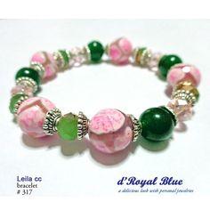 Kristal ceko, kristal cina, batu diwarna (pink), batu hijau (dari kalimantan) Harga Rp. 150ooo sdh termasuk ongkir Jabodetabek. Daerah lain tinggal tambah sisa.  Model lain silahkan lihat di https://www.facebook.com/dRoyalBlueINA ya... Boleh juga kontak via instagram (drbjewelry), atau SMS 0898 595 0316.  #gelang #bracelet #green #pink #hijau #perhiasan #jewelry #wanita #accessories #aksesoris  #handmadeaccessories #fashion #fashionista #handmade #handmadebracelet #statementbracelet