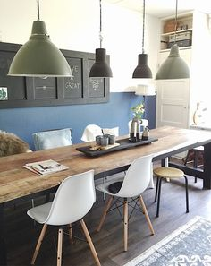 Garden – View of mijnhuis__enzo - Kitchens Remodel Ideas Dining Room Bench, Dining Area, Dining Table, Home And Living, Small Living, Living Room, Kitchen Interior, Kitchen Remodel, Sweet Home