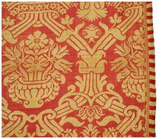 Spanish coverlet 1500-1550   Textiles and Costumes   Henry Art Gallery
