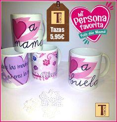 ¿¿Sin ideas de regalos para el día de la madre??  Haz que despierten con una gran sonrisa con esta taza todos los días. Porque son las mejores... #tororegalos #moralzarzal #tazas #regalosúnicos #felizjueves